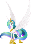 Princess Celestia by Nemesis360