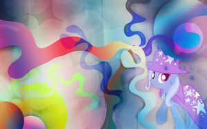 Trixie's Magical Wallpaper (Abstract) by Tom-The-Rock