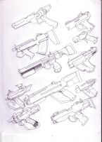 More Merc weapons 3 by GeorgieGanarf