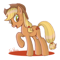 Just Applejack by ToriSakura
