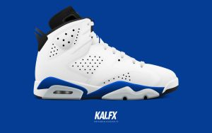 Air Jordan 6 'Sport Blue' by BBoyKai91