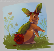 Blossbun Species Concept - new art by The-Hare