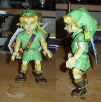Young Link Papercraft by Paracage