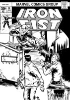 Iron Fist Cover by mad-flavor