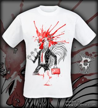 'busy rooster' shirt by GLoeNn