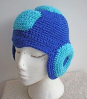 Mega Man Beanie by tallis-designs