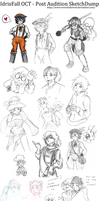 IdrisFall - Post Audition SketchDump by Overshadowed