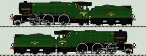 LNER V2 liveries - 60800 'Green Arrow' by 2509-Silverlink