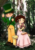 Chibi Pride and Prejudice 3 by Delight046