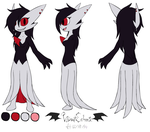 Comm - Kaleanna/Ghost Ref by VibrantEchoes