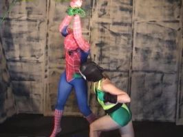 Spidey pounded by villainess 1 by villainofspand