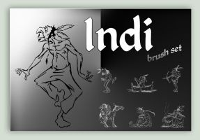 Indi (brush set) by Vule76