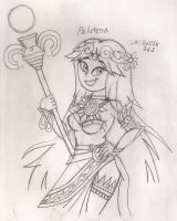 Art Collab: Palutena by gilster262