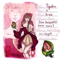MGW APP : Nyadine Thornhart of Witchgate by i-cherrypie