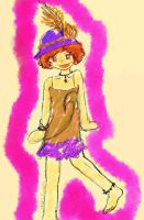 Flapper Me Click the picture by lenlen46