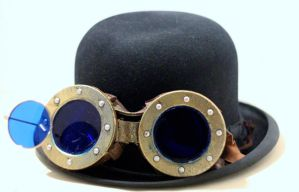 Steampunk goggles 2. by mikestevenson1955