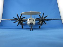 1/72 Scale E-2c Hawkeye (front) by Coffeebean2