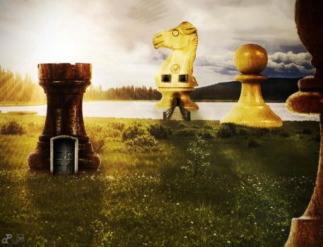 Living in chess pieces by PatriiCkDzn