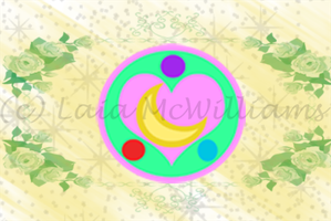 Sailor Alchemy Moon: Brooch by LaylaSerenity