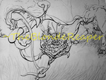 Let's do the wraparound: linework by TheBlondeReaper