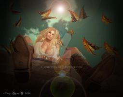 You Give Me Butterflies by afox2004