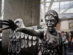 Weeping Angel Cosplay by SNTP