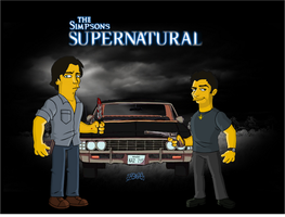 The Simpson-Supernatural by 7irael