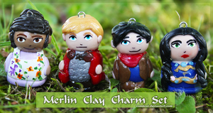 Merlin Clay Charm Set by Comsical
