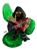 ermac dan art by NawafGalaxy