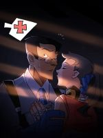 TF2 kiss you by biggreenpepper