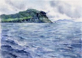 -Postcrossing: Somewhere on Skye- by RiEile