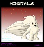 Ninetails by Chilenita