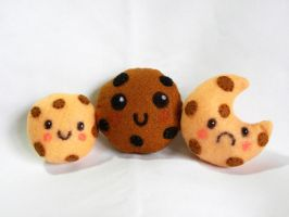 Cookie Plushies by EmilyHitchcock