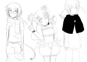 More of my OC's by ftv97