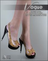 Vogue for Peep Toe Pumps by cosmosue