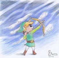 Toon Link by Kanis-Major