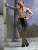 Satyr Is Not Dead by JV-Andrew