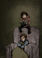 SPN: story time by annARTism