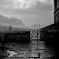 Gateway to the mountains by ilsilenzio