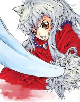 Inuyasha Colored by MerimokaRay