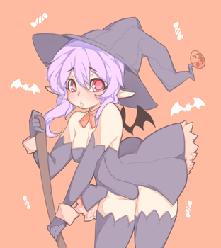 witch by punipaws