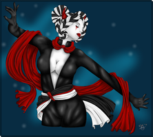 expressive dance by MistressAilyia