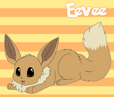 Eevee by LexiCakes
