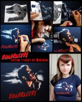 Custom Roadracers Tee by Vikrapuff