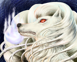 Ninetales' Night by StephanieGrafe