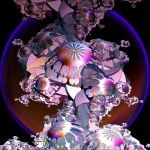 violet landscape with hemispheres by Andrea1981G