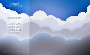 Clouds Wallpaper Pack by lethalNIK-ART