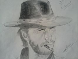 clint eastwood by MrEli75