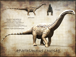 Apatosaurus Showcase (Old Version) by Sketchy-raptor