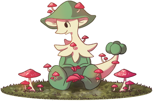 Mushroom Monster by Miss-Callie-Rose